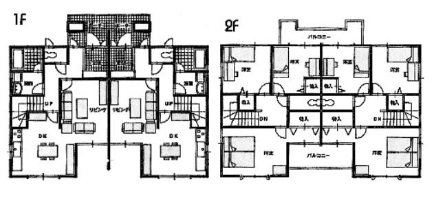 半額で家を建てる 収入型住宅 Dual 間取り